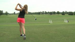 Meredith Kirk Driving Golf Tip - A Piece of Advice