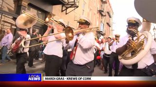 Krewe of Cork at Mardi Gras -...