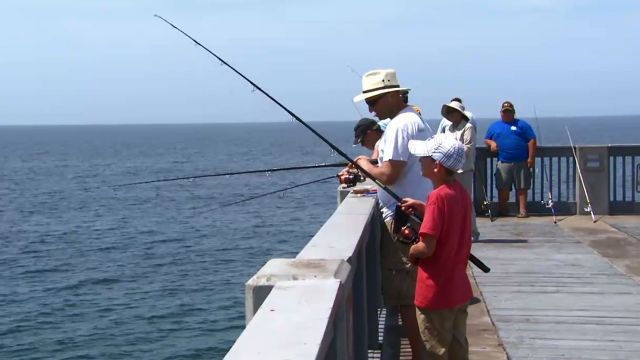 Best way to experience pier fishing a piece of advice for Surf fishing panama city beach