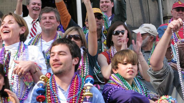 Mardi Gras in New Orleans, Louisiana!