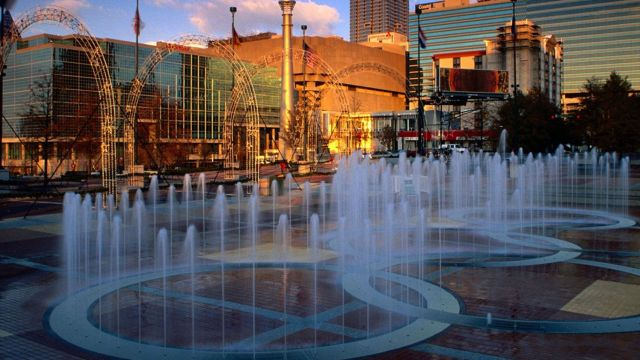 Atlanta's Centennial Olympic Park's Annual Holiday In Lights