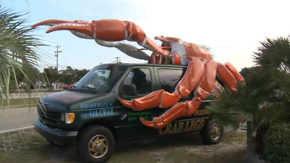 Crabby Van at Crabby Mike's - Did You Know?