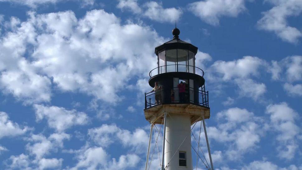 Cape San Blas Lighthouse in Gulf County Florida