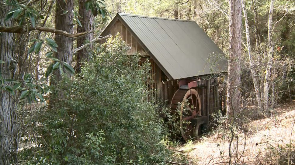 Blackwater River State Park Grist Mill - A Note of History