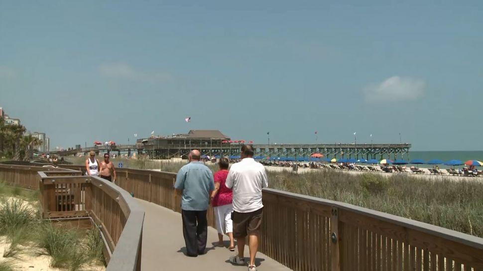 Myrtle Beach's Oceanfront Boardwalk - Nightlife