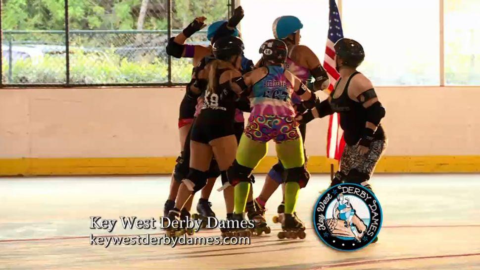 Lacie Maninga from Key West Derby Dames