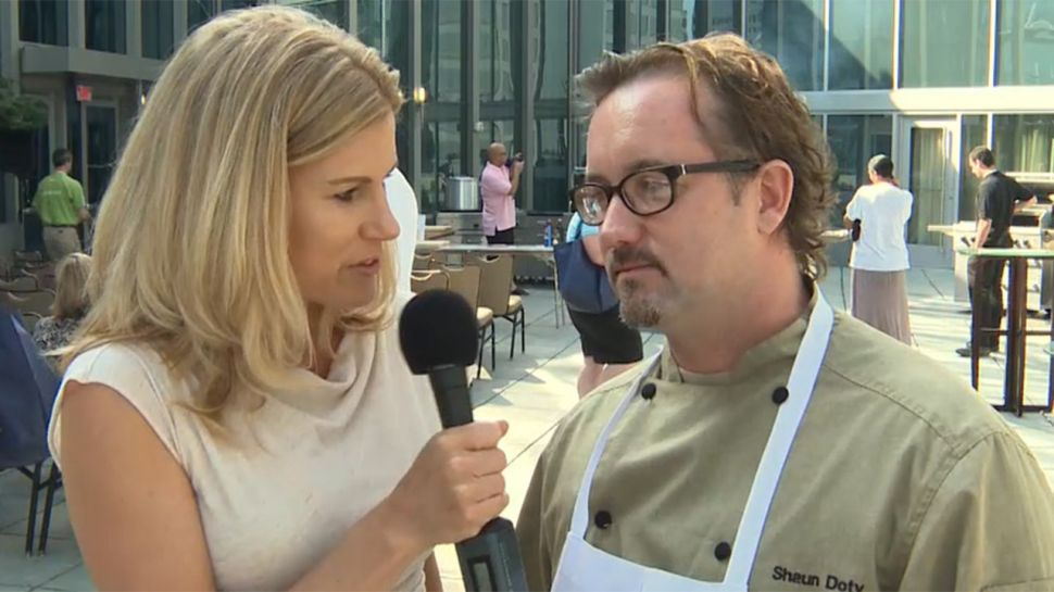 Chef Shaun Doty from the Atlanta Food and Wine Festival - Nightlife