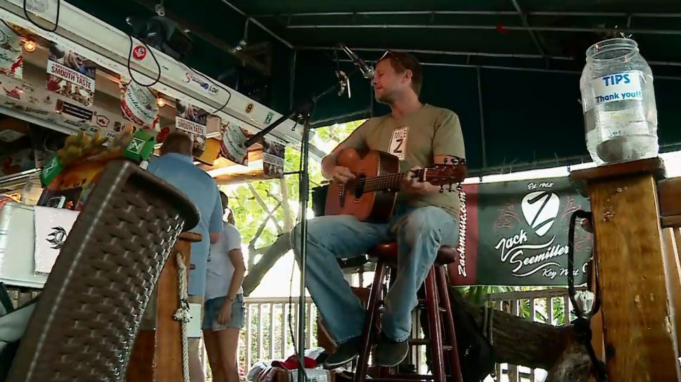 Key West Musician Zack Seemiller - Nightlife