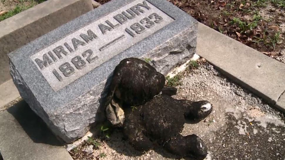 Key West Cemetery Stuffed Bunny - Did You Know?