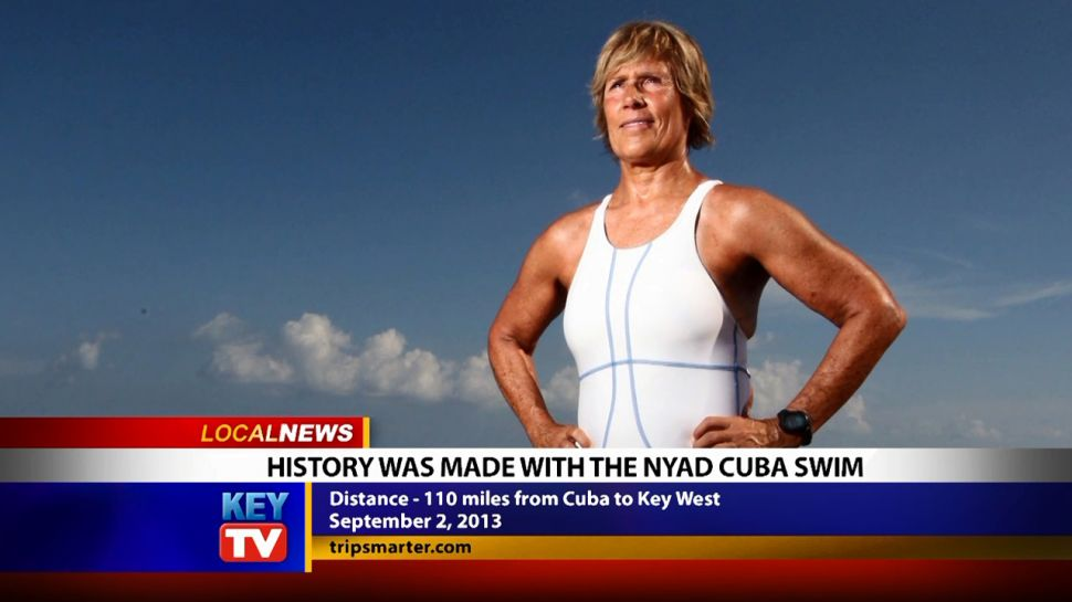 History Was Made With The Nyad Cuba Swim - Local News