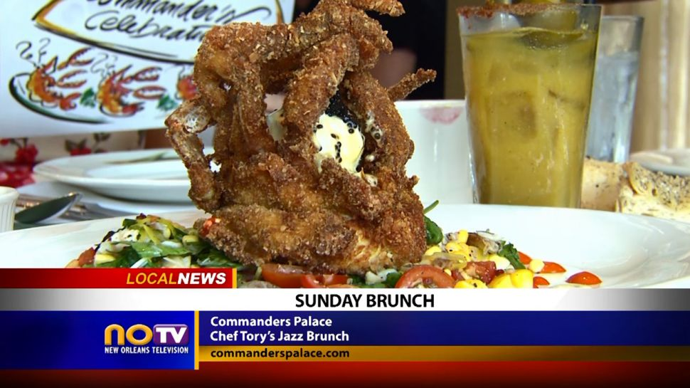 Sunday Brunch at Commanders Palace - Local News