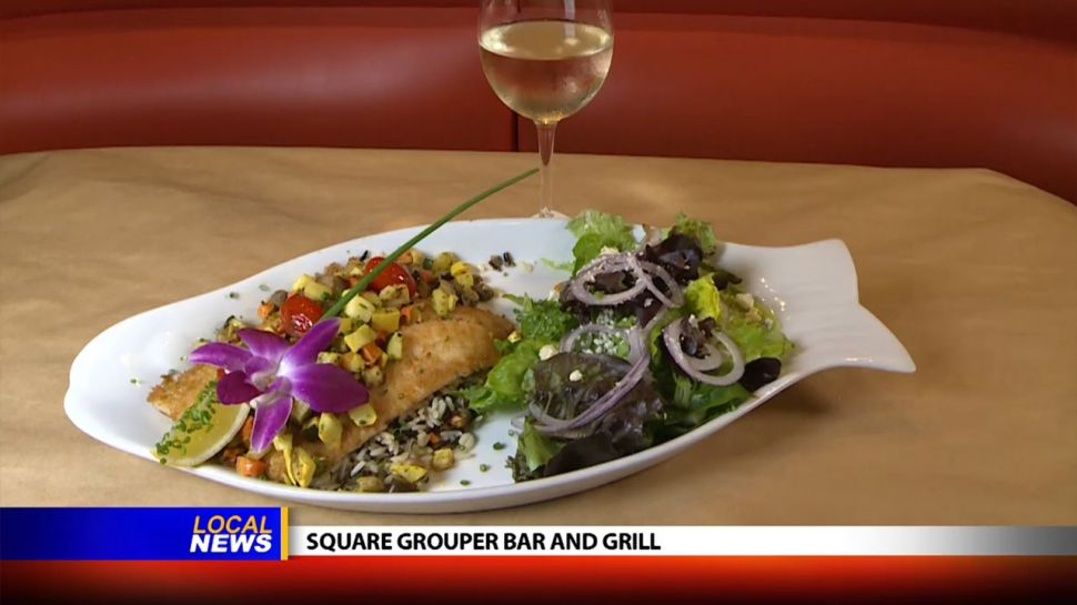 Square Grouper Bar and Grill - Dining Tip