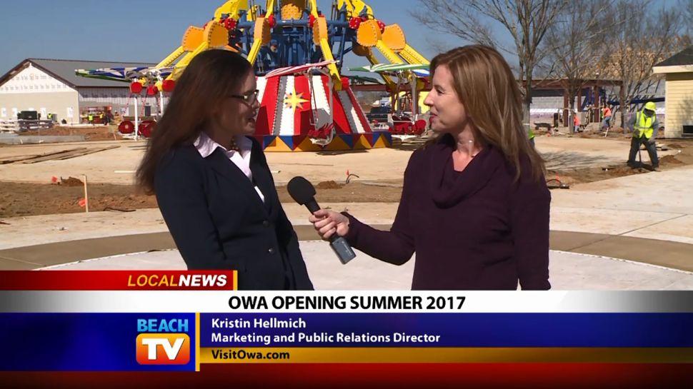 OWA Opening Summer 2017 - Local News