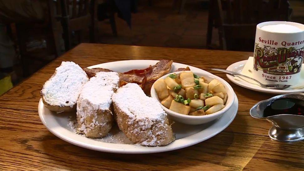Seville Quarter - What's for Breakfast?