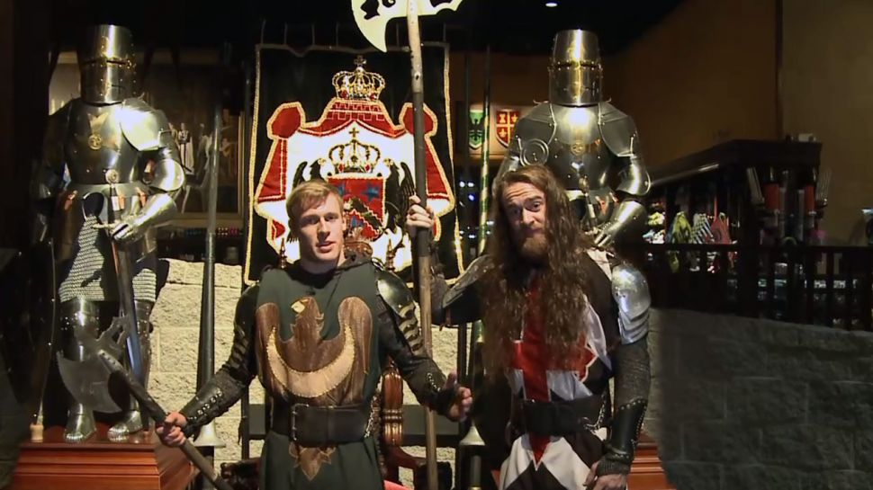 The Weapons of Medieval Times in Myrtle Beach