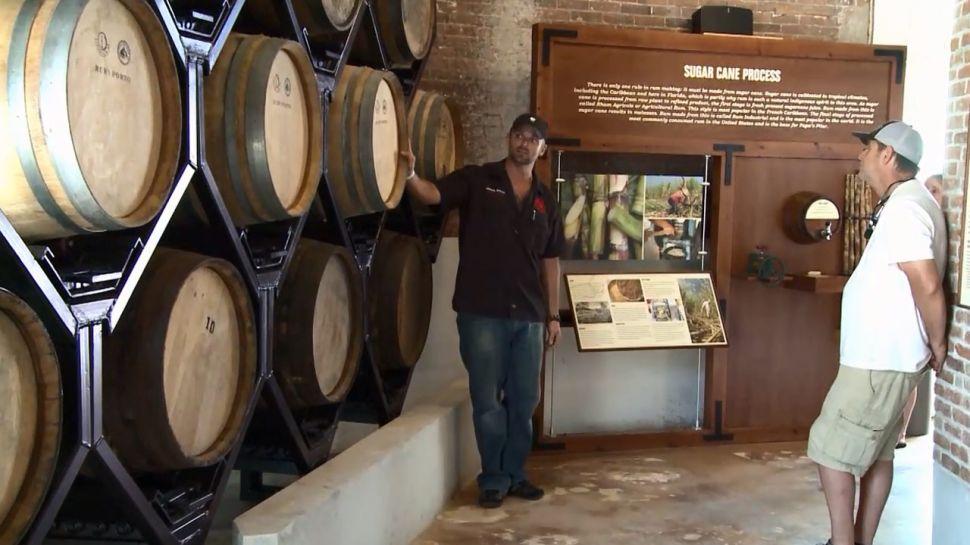 Carlton Grooms from Papa's Pilar Distillery