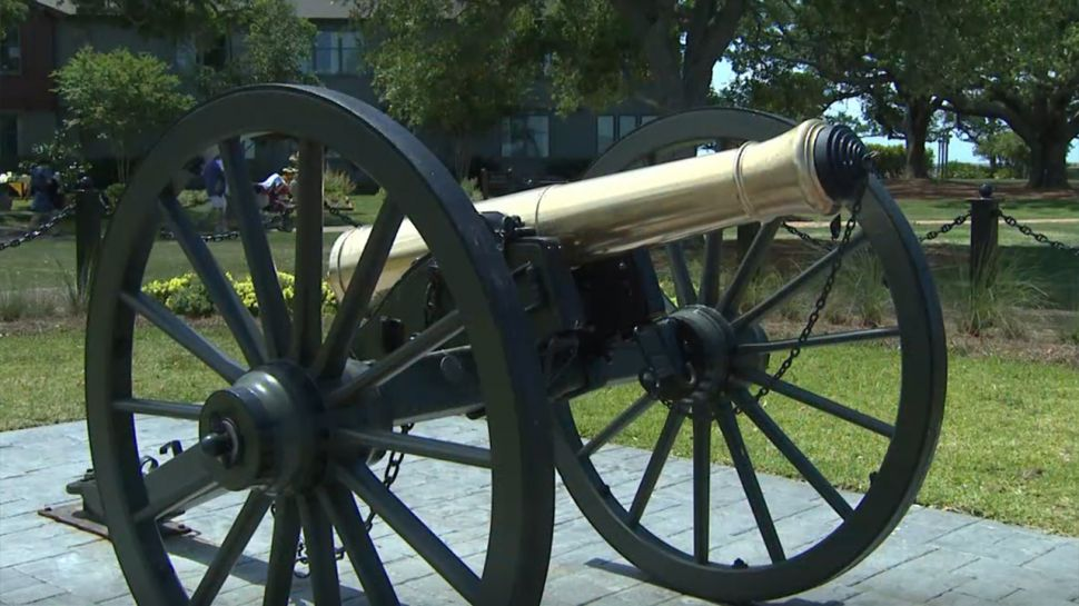 Firing of the Cannon at The Grand Hotel Marriott Resort - A Note of History
