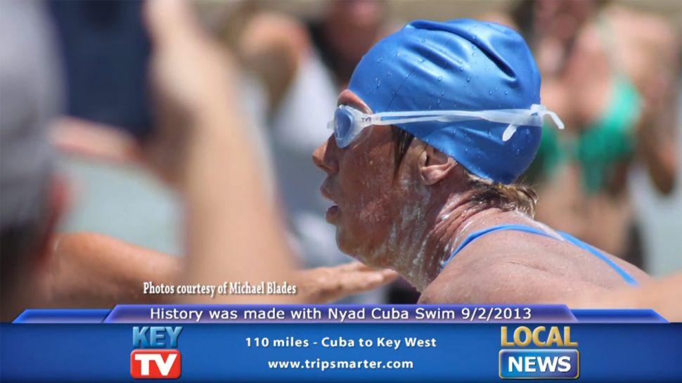 Diana Nyad Cuba to Key West Swim - Local News