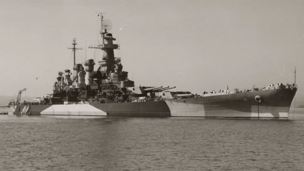 Battleship North Carolina - A Note of History