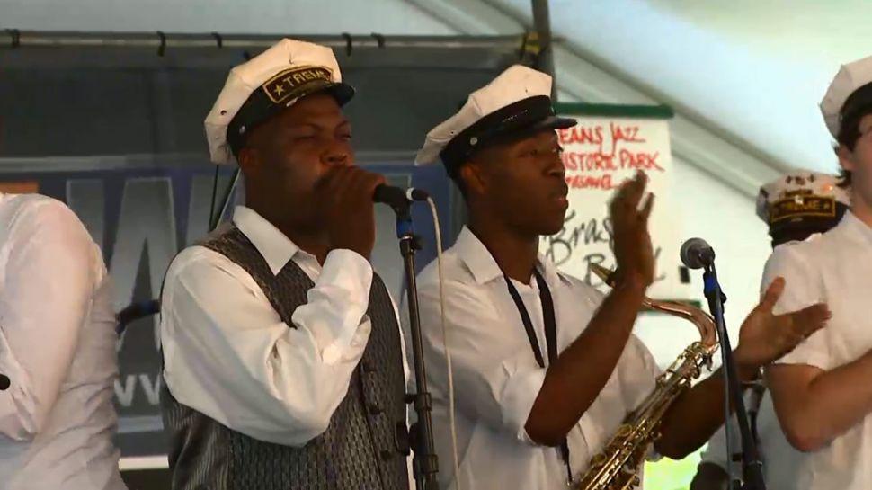 Treme Brass Band - Music Scene