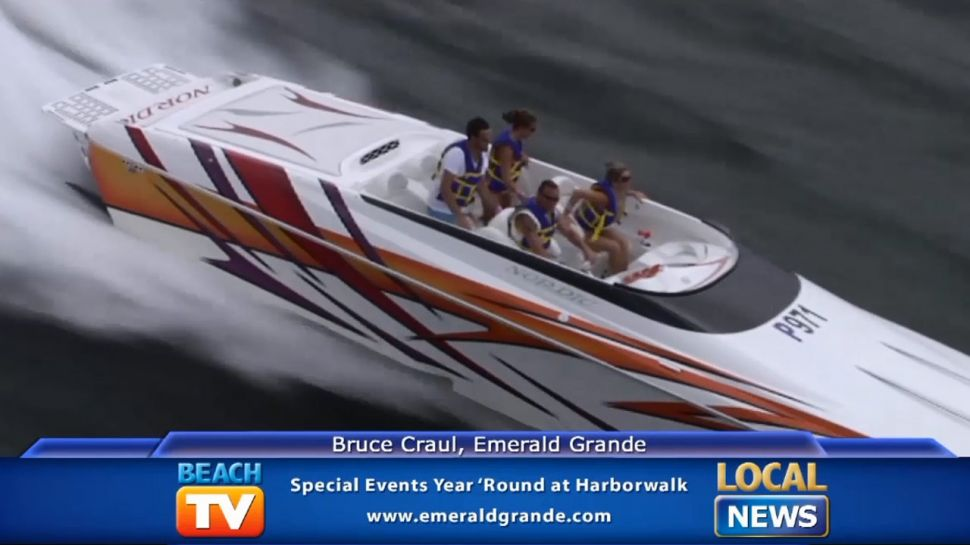 Bruce Craul on Harborwalk Special Events