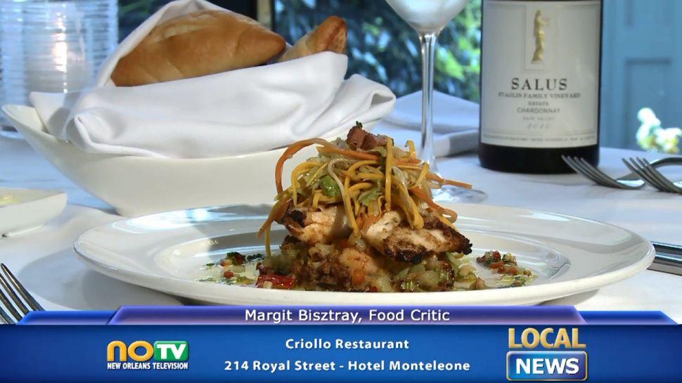Criollo Restaurant and Carousel Bar - Local News