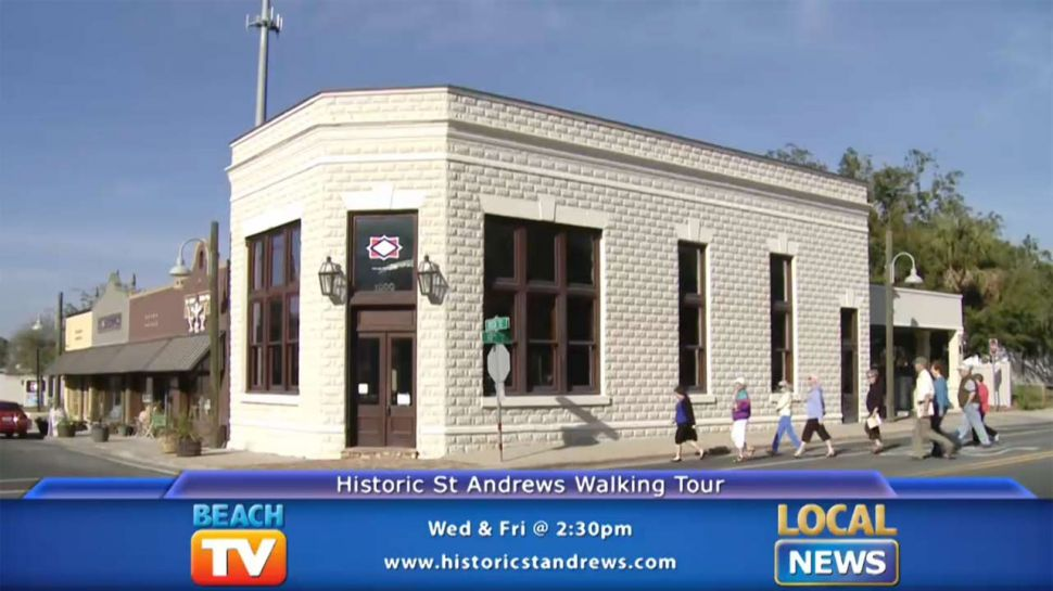 St. Andrews Walking Tour - Local News
