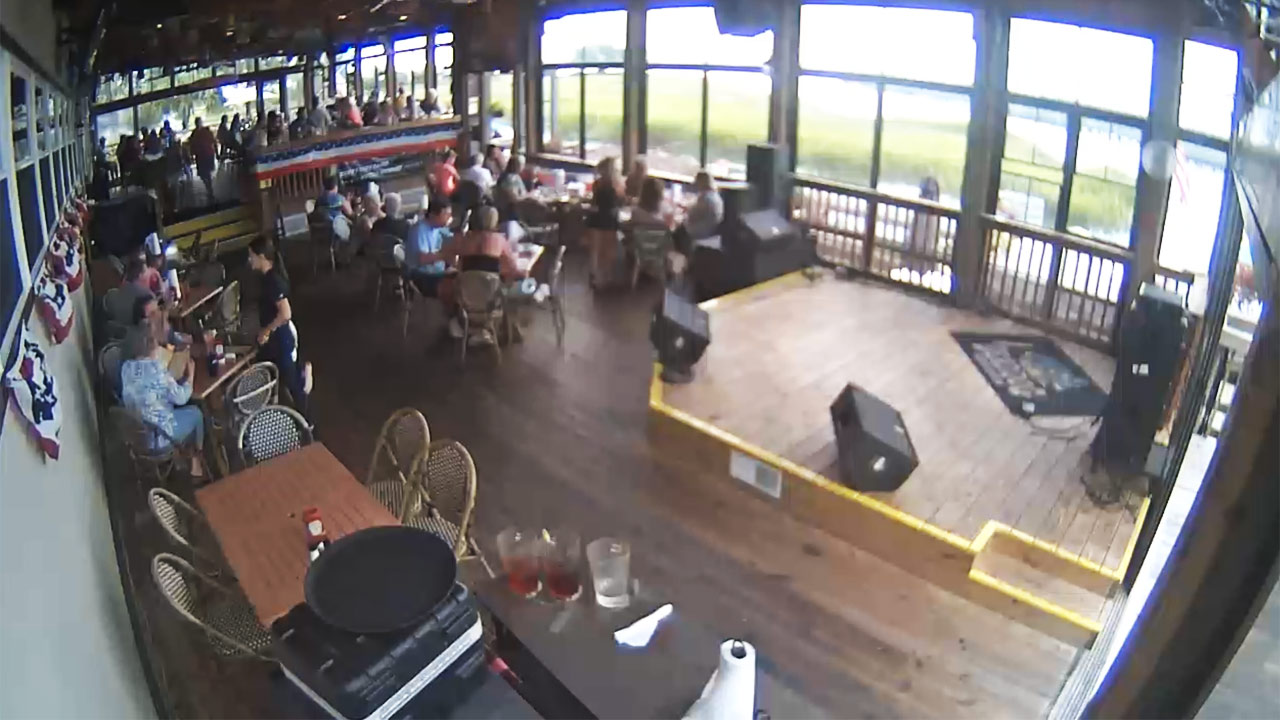 Dead Dog Saloon Band Cam